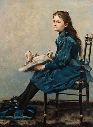 Victor Leydet (painter) - Image: Charlotte Victor Leydet 1896