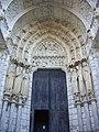 Chartres - cathédrale, transept nord (08).jpg