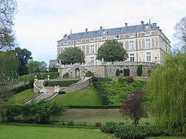The Chateau Colbert in Maulevrier