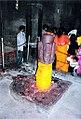 Chaturmukha Lingam Mundeshwari temple.jpg