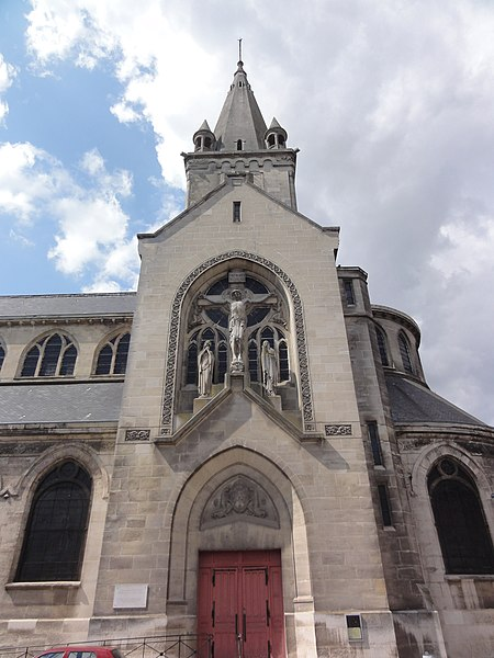 Chauny (Aisne) église Saint-Martin