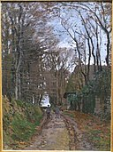 Chemin en Normandie by Claude Monet, 1868, oil on canvas - Matsuoka Museum of Art - Tokyo, Japan - DSC07407.JPG
