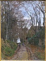 Chemin en Normandie
