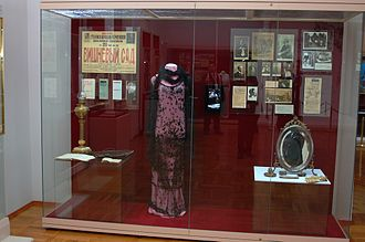 The Cherry Orchard - The Cherry Orchard memorabilia at the Chekhov Gymnasium literary museum.