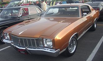Chevrolet Monte Carlo - 1972 Chevrolet Monte Carlo