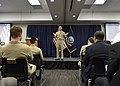 Chief of U.S. Naval Operations Adm. Jonathan Greenert, center, speaks during an all-hands call at U.S. Fleet Cyber Command-U 131217-N-ZI511-775.jpg