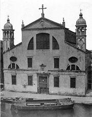 Iglesia de Santa Lucía, Venecia (1580)