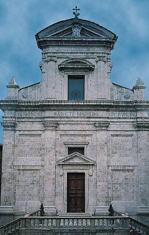 San Martino (Siena) - Façade