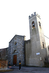 Chiesa di Santa Maria a Marignolle - Facade and Bell Tower - A.jpg