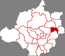 Location in Baoding