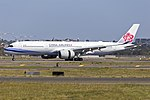 China Airlines (B-18917) Airbus A350-941 at Sydney Airport.jpg
