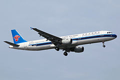 China Southern Airlines Airbus A321-211 B-6622 (8781568860).jpg
