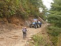 Chinese Tractors on Nepal Dirt Road.jpg