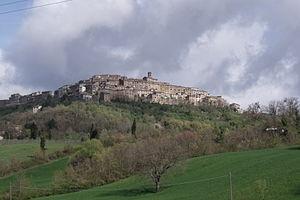 Chiusdino - Image: Chiusdino Panorama 2