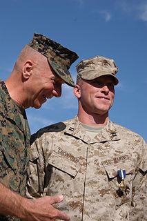 Brian Chontosh recipient of the Navy Cross