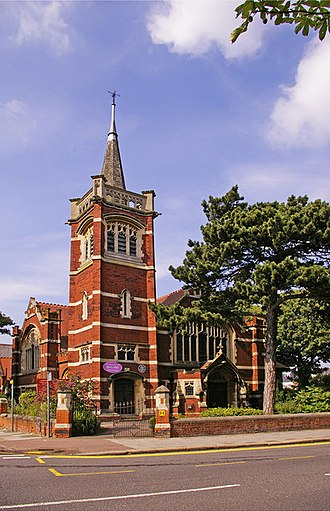 Cecil Pugh - Christ Church, Friern Barnet, where Pugh was pastor 1927–39