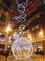 Christmas decorations at the Light, Leeds (12th December 2018) 003.jpg