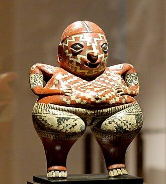 Guanajuato - Chupícuaro statuette at the Louvre