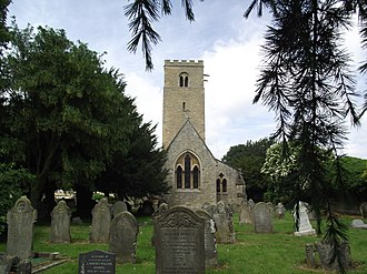 Clapham, Bedfordshire - Image: Church, Clapham (geograph 3635720)