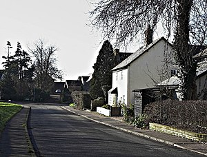Guilden Morden - Image: Church St and High St Guilden Morden geograph.org.uk 330556