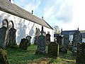 Churchyard at Kilfinan Parish Church - geograph.org.uk - 1651687.jpg