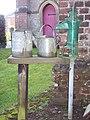 Churchyard pump at All Saints' Church - geograph.org.uk - 378904.jpg