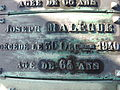 Cimetière Miséricorde - Plaque tombale de Joseph Malègue.jpg