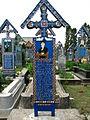 Cimitirul Vesel - Săpânța - detalii.JPG