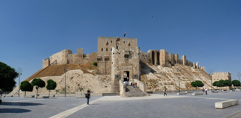 File:Citadel of Aleppo.jpg