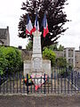 Clamecy (Aisne) monument aux morts.JPG