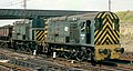 Class 13 no. 13003, permanently coupled Master-Slave locomotives, Tinsley Marshalling Yard, Nigel Tout, 6.8.74.jpg