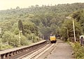 Class 31 diesel on a Sheffield to Manchester storms through Grindleford station - geograph.org.uk - 2414438.jpg