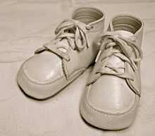 For sale: baby shoes, never worn - Wikipedia