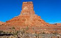 Classic butte in Valley of the Gods (8228873124).jpg