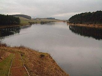 James Leslie (engineer) - Clatto Reservoir