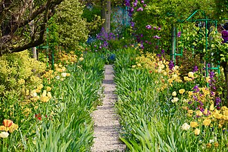 Fondation Monet in Giverny - Many tourists are inspired by Claude Monet's artistic vision when visiting his garden in Giverny.