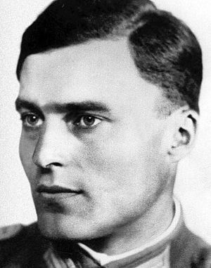 Claus von Stauffenberg - Image: Claus von Stauffenberg portrait (1907 1944)