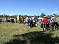 Farm clearing sale, Woolbrook, NSW.