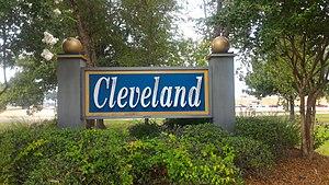 Cleveland, Mississippi - Image: Cleveland MS Sign