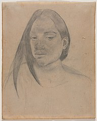 Head of a Tahitian Woman (1949.439)