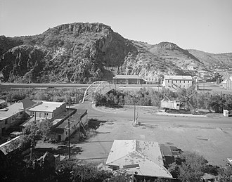 National Register of Historic Places listings in Greenlee County, Arizona - Image: Clifton Townsite Historic District