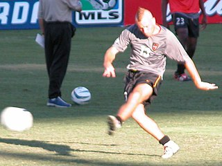 Clint Mathis American soccer player