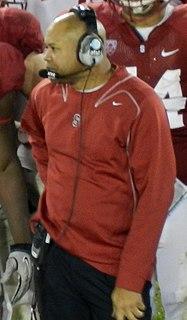 David Shaw (American football) American football coach
