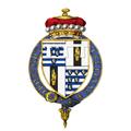Coat of Arms of Robert Gascoyne-Cecil, Viscount Cranborne, KG.png