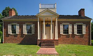 Lincoln State Park - The Colonel William Jones House