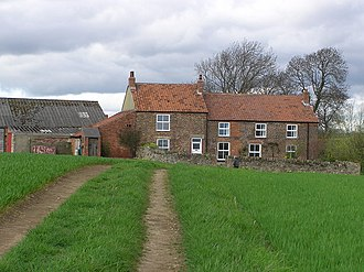 Walworth, County Durham - Coldsides Farm, on the edge of the parish