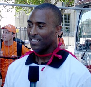 BBC Wales Sports Personality of the Year - Colin Jackson, three-time winner.