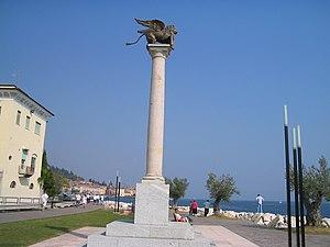 Salò - Image: Colonna salo