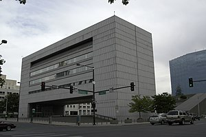 Colorado Supreme Court - Former Colorado State Judicial Building, since demolished