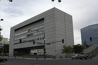 Colorado Supreme Court - Former Colorado State Judicial Building, since demolished